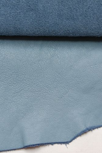 Ecopell nappa leather pre-cut babyblue