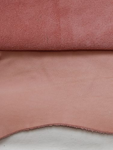 Ecopell nappa leather pre-cut babypink