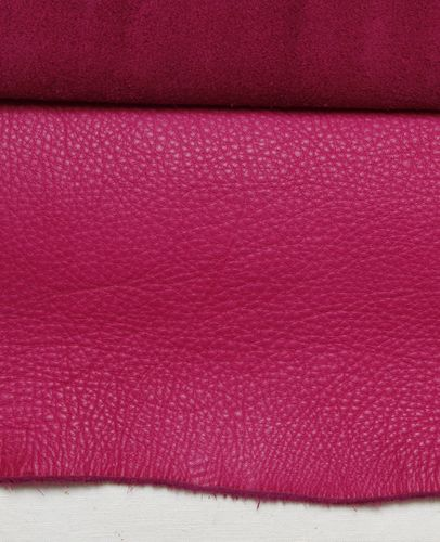 Ecopell nappa leather pre-cut magenta