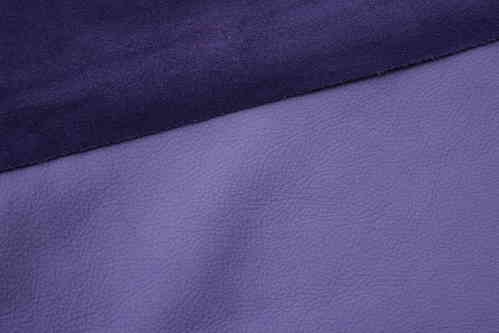 Ecopell nappa leather pre-cut lilac