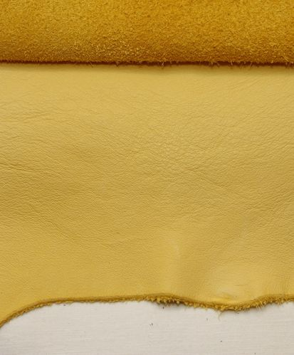 Ecopell nappa leather pre-cut tweety yellow